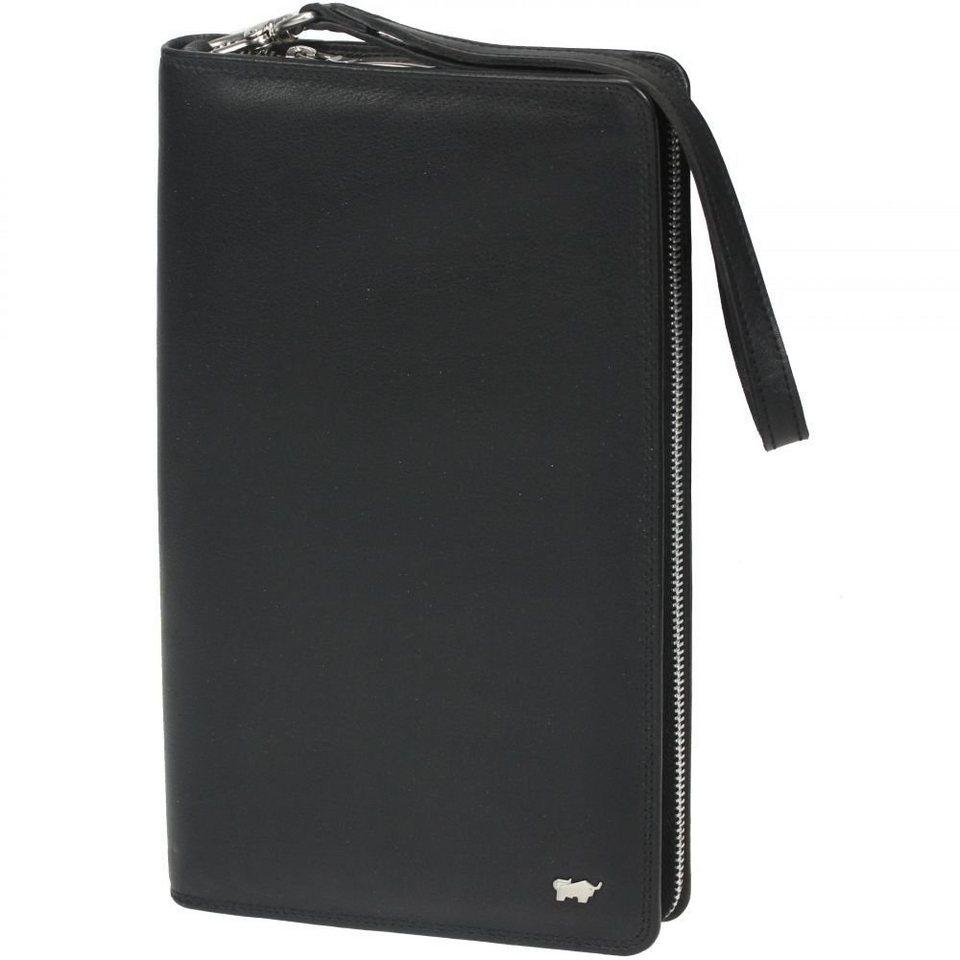 Braun Büffel Braun Büffel Golf Reisebrieftasche Leder 14 cm in schwarz