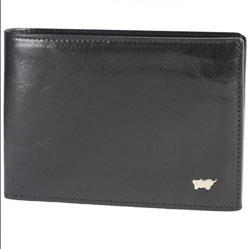 Braun Büffel Braun Büffel Basic Geldbörse Leder 12,5 cm in nachtschwarz