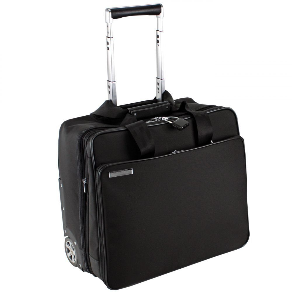 PORSCHE Design Roadster 2.2 BriefBag M 2-Rollen Trolley 40 cm Laptopfach