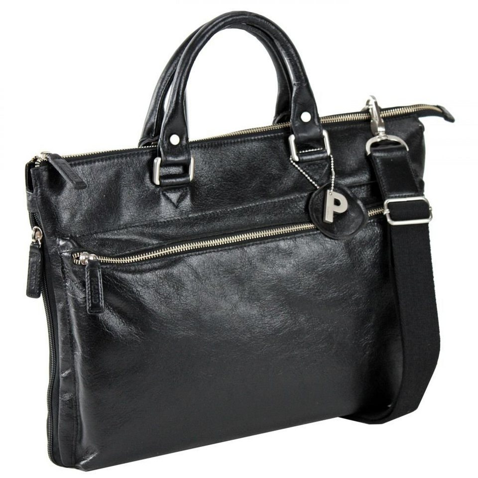 Picard Picard Buddy Business-Tasche Leder 41 cm in schwarz