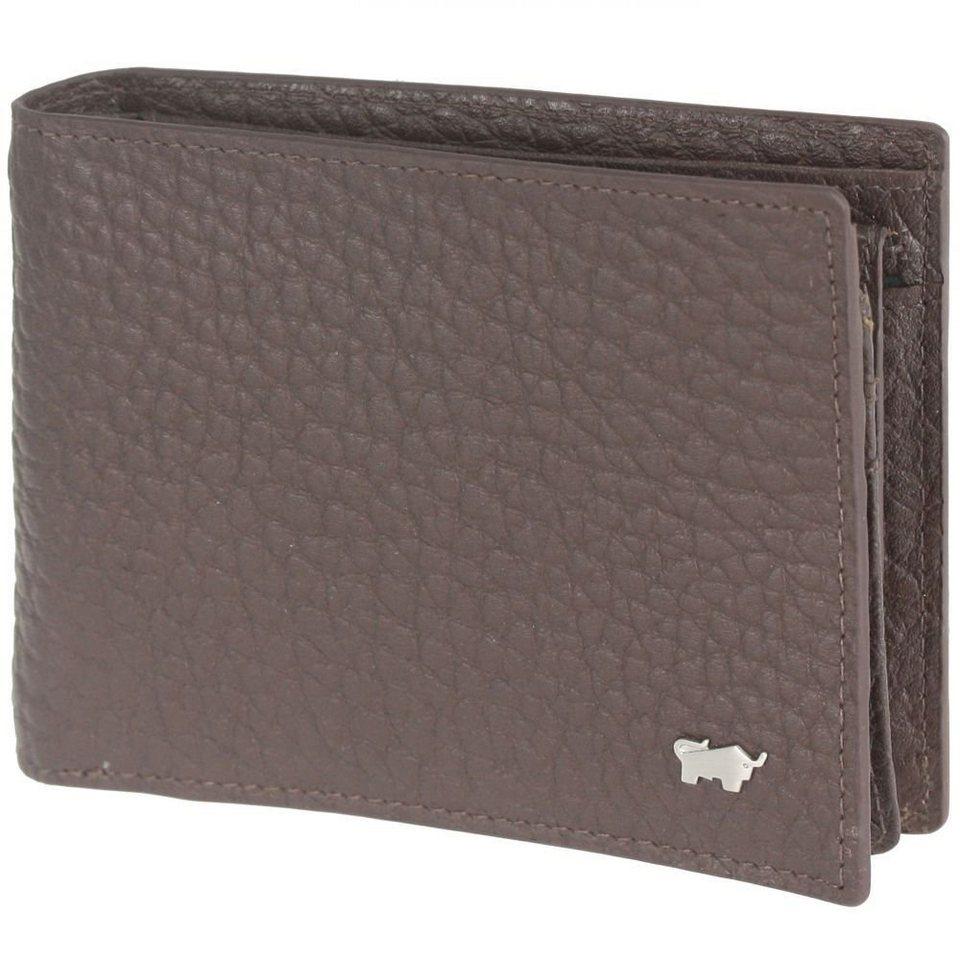 Braun Büffel Tough Geldbörse Leder 12,5 cm in braun