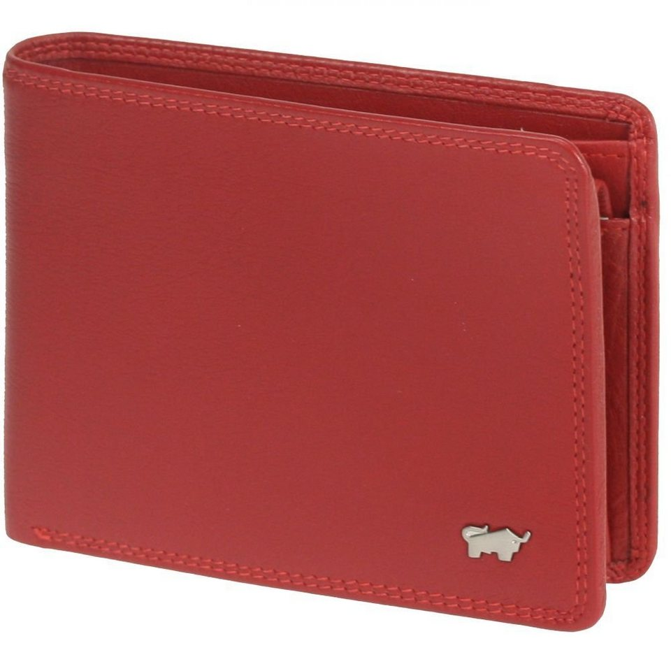 Braun Büffel Braun Büffel Golf Geldbörse Leder 12,5 cm in rot