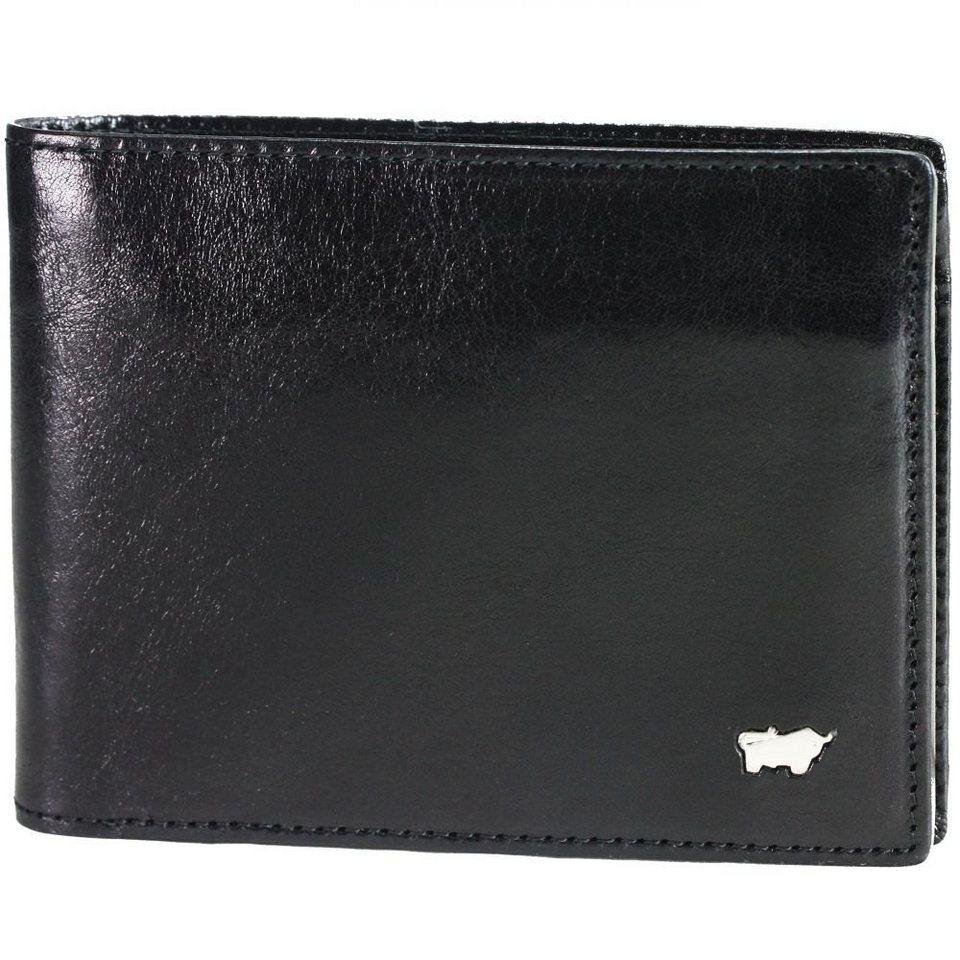 Braun Büffel Braun Büffel Basic Geldbörse Leder 11,5 cm in schwarz