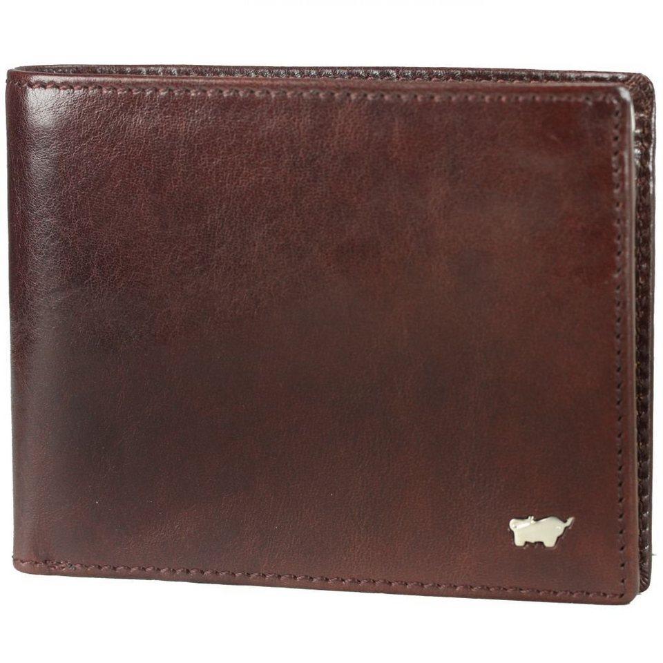 Braun Büffel Basic Geldbörse Leder 12,5 cm in cognac