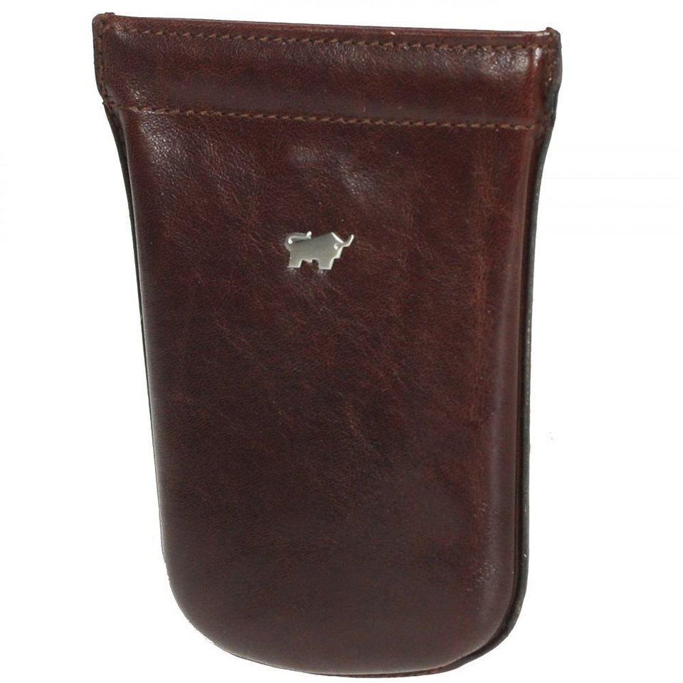 Braun Büffel Braun Büffel Basic Schlüsseletui Leder 9 cm in palisandro