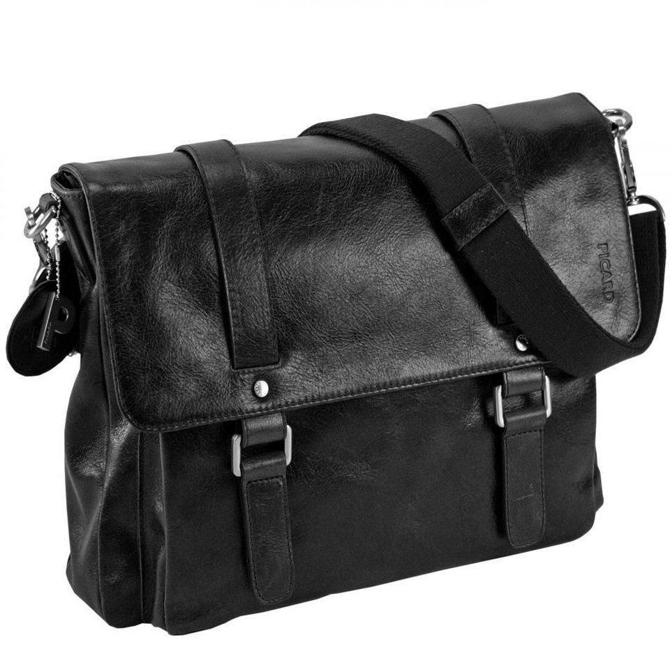 Picard Buddy Business-Tasche Leder 37 cm in schwarz