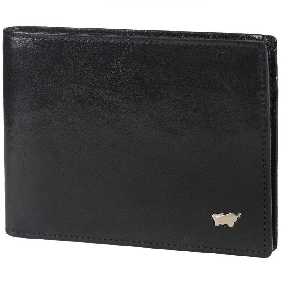 Braun Büffel Braun Büffel Basic Geldbörse Leder 12 cm in schwarz