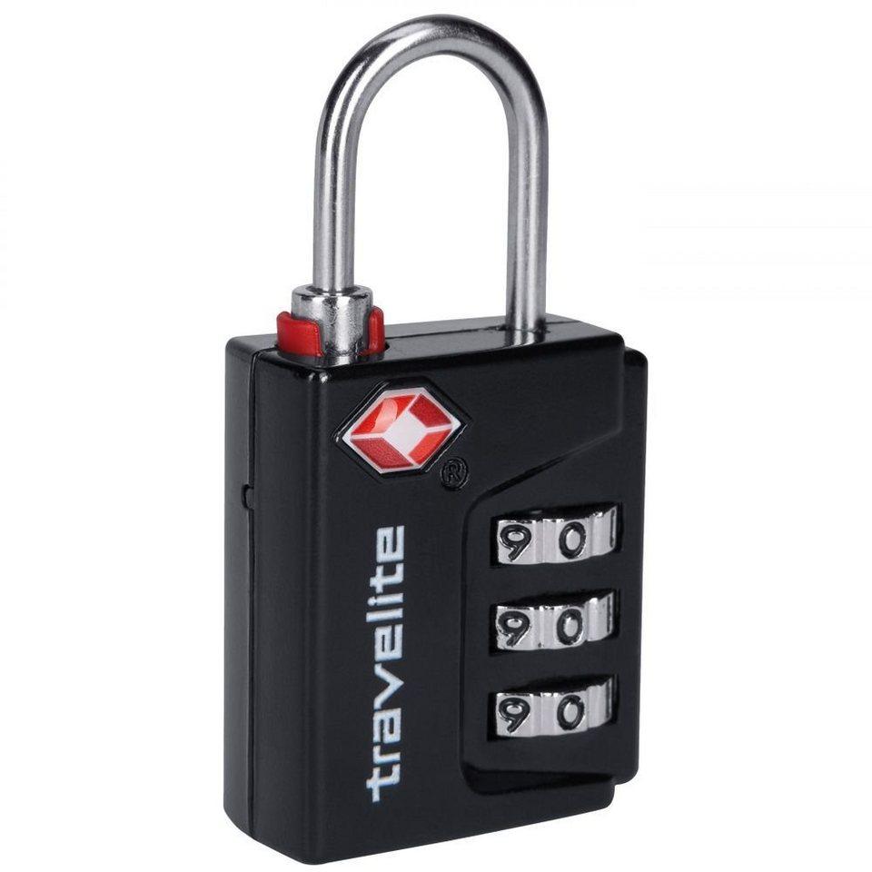 travelite Accessoires TSA-Gepäckschloss 5 cm in schwarz