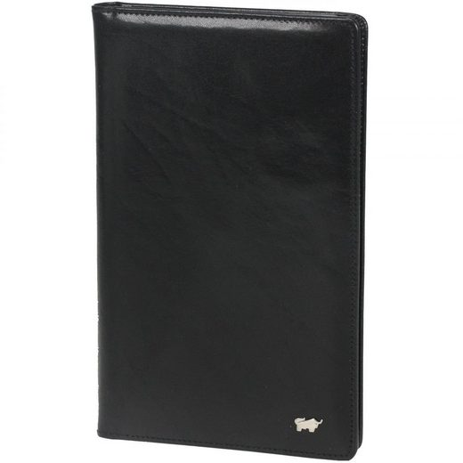 Braun Büffel Basic Visitenkartenmappe Leder 12,5 cm