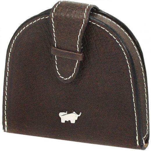 Braun Büffel Premium Geldbörse Leder 8,5 cm