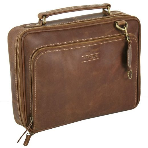 GreenLand Nature Laptoptasche Leder 31 cm