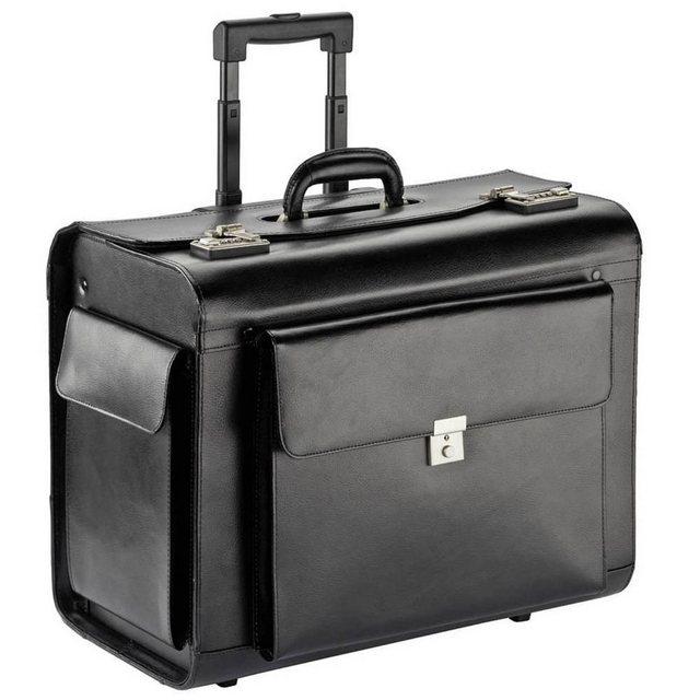 Dermata XXL Pilotenkoffer Trolley 50 cm | Taschen > Koffer & Trolleys > Trolleys | Schwarz | Dermata