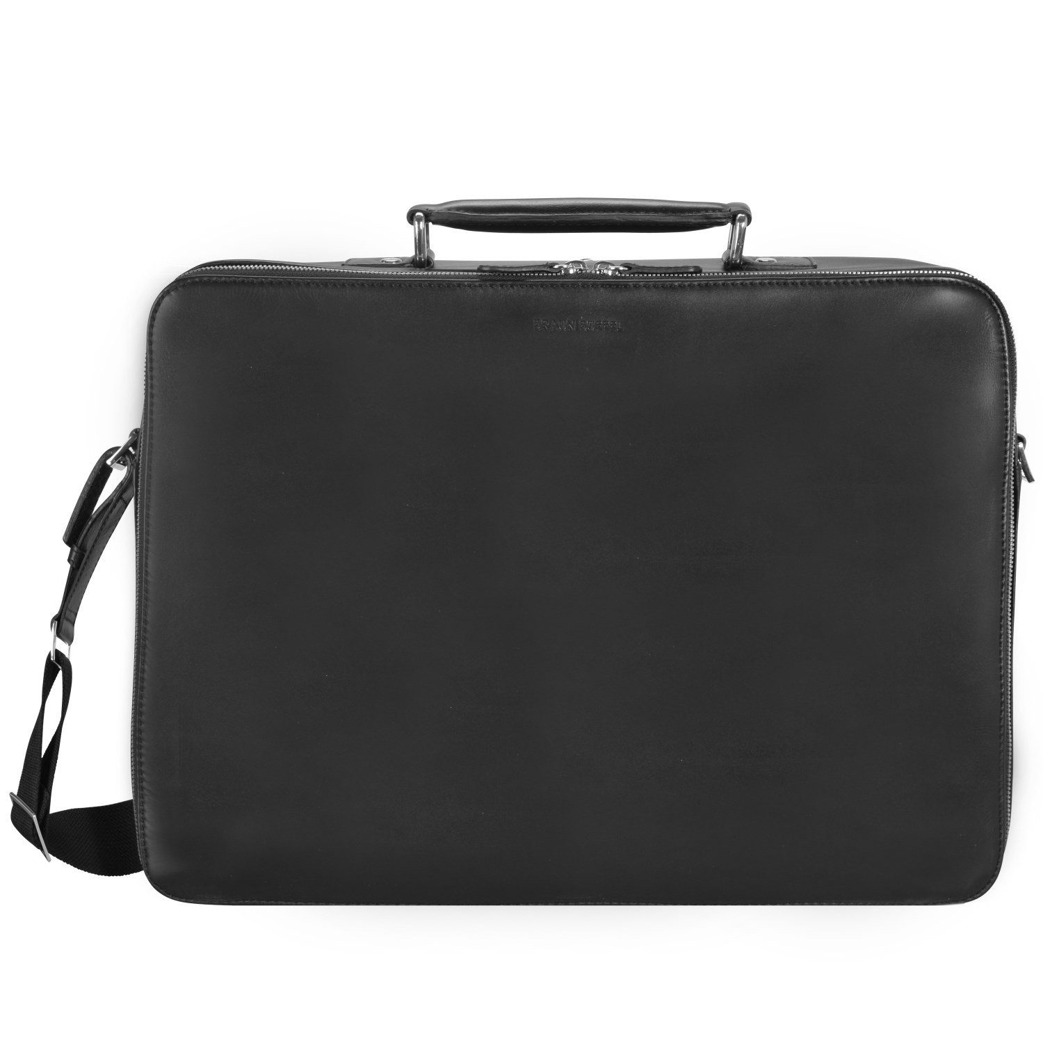 Braun Büffel Oxford Businesstasche L Leder 42 cm Laptopfach