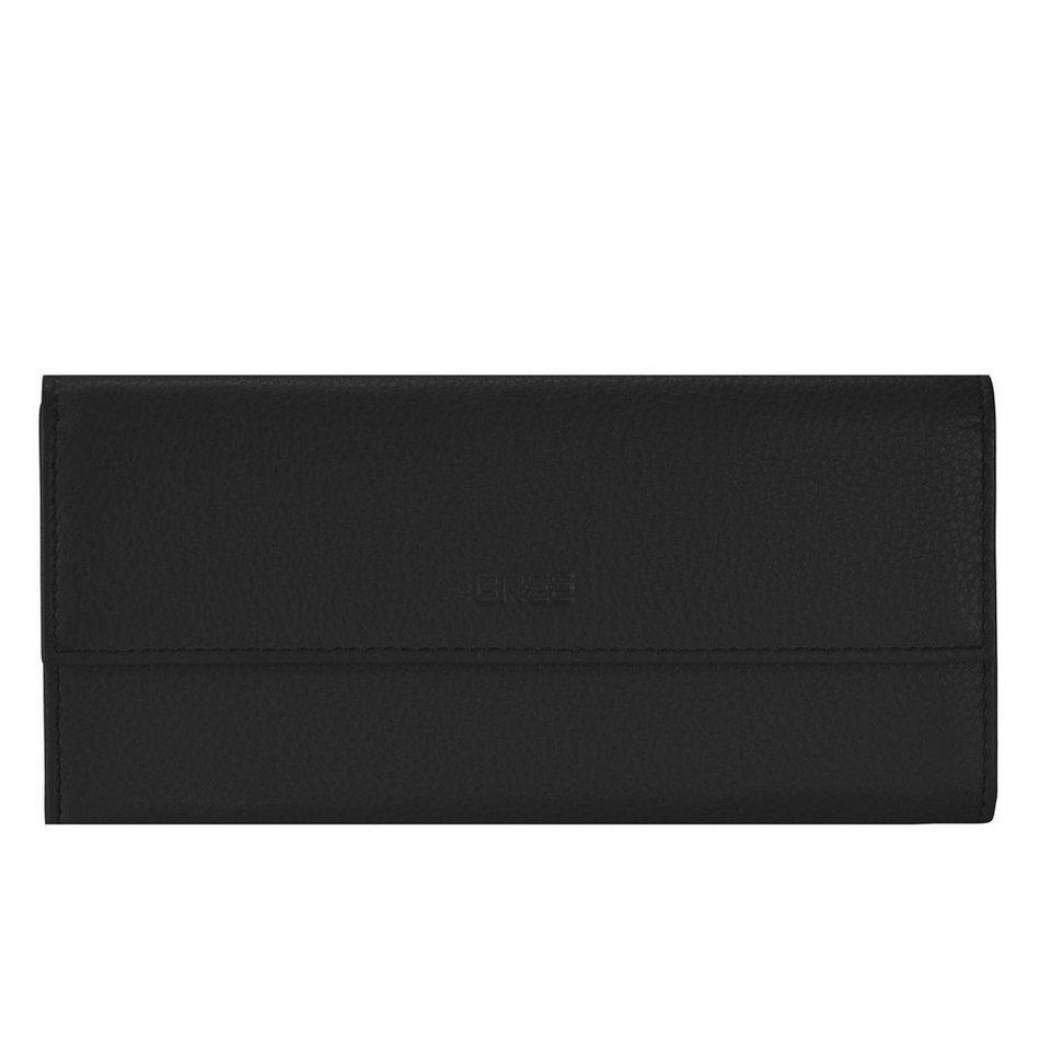 BREE Sofia 110 Geldbörse I Leder 19 cm in black