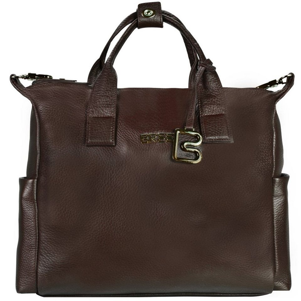 Bree Bree Nola 7 Businesstasche Leder 37 cm Laptopfach in dark brown