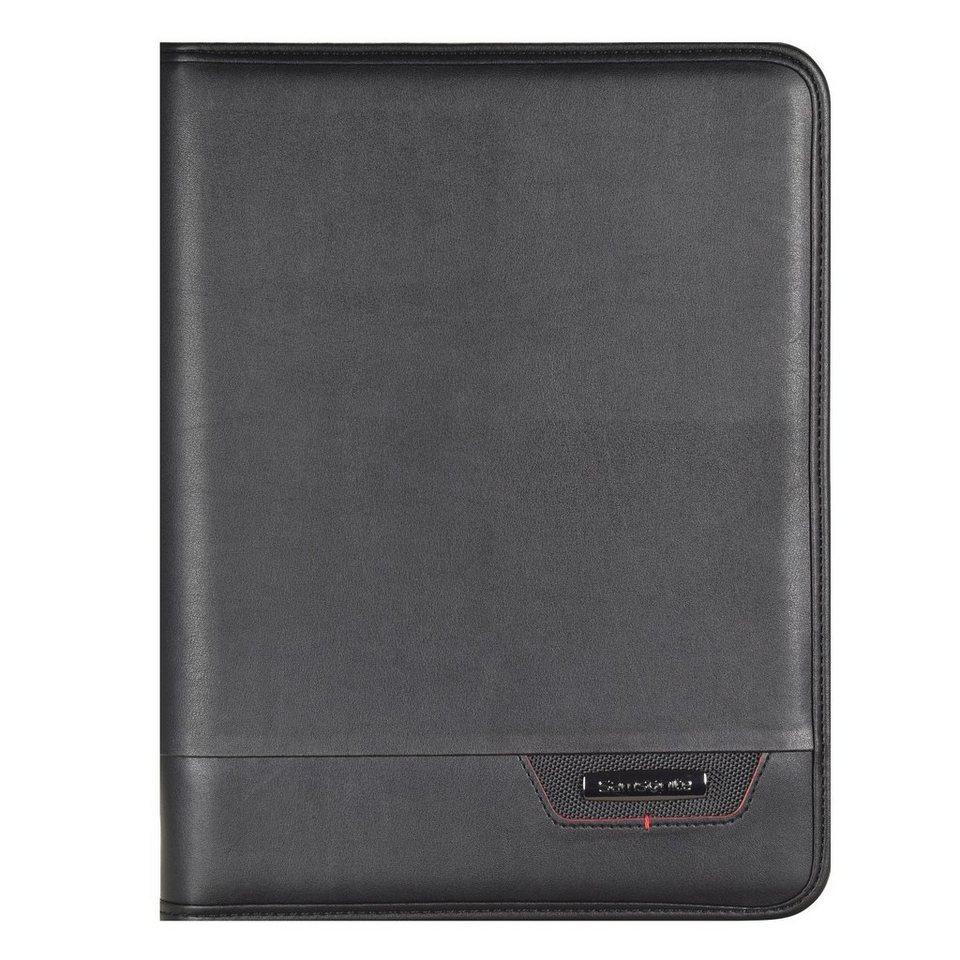 Samsonite Samsonite Stationery Pro-DLX4 Schreibmappe 25 cm in black