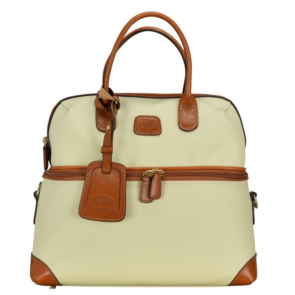 Bric's Bojola Beauty Case 35 cm in creme