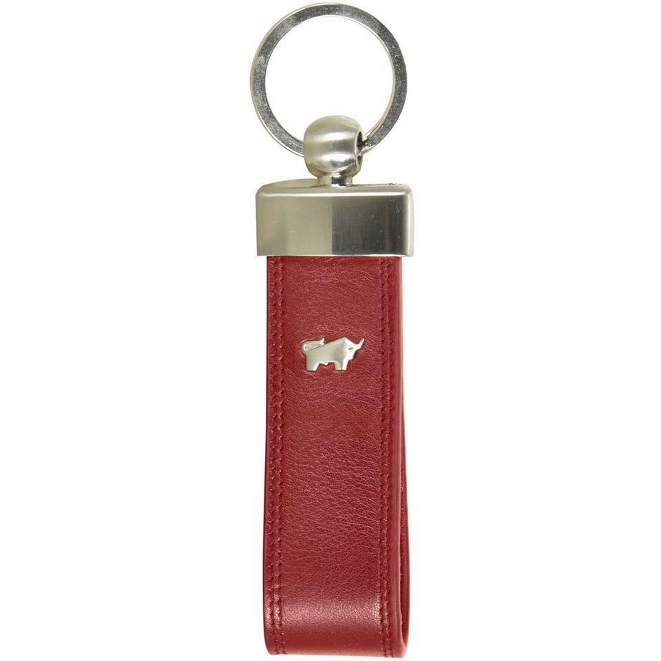 Braun Büffel Braun Büffel Golf Schlüsselanhänger Leder 13,5 cm in rot