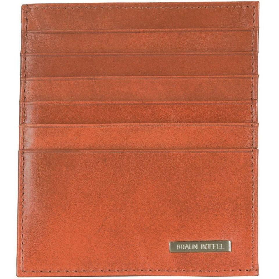 Braun Büffel Texas Kartenetui Leder 9,7 cm in cognac