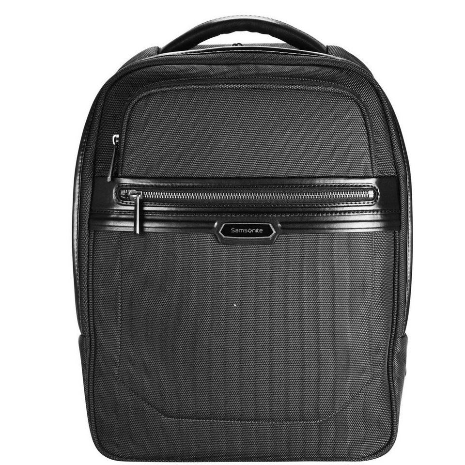 Samsonite Integra Backpack Rucksack S 45 cm Laptopfach in black-black