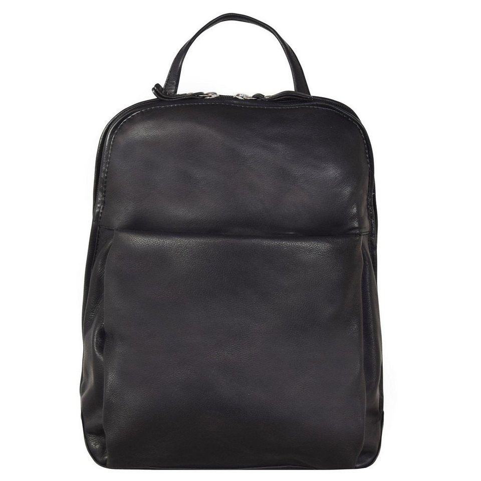 maestro elegance damen city rucksack leder 29 cm otto. Black Bedroom Furniture Sets. Home Design Ideas