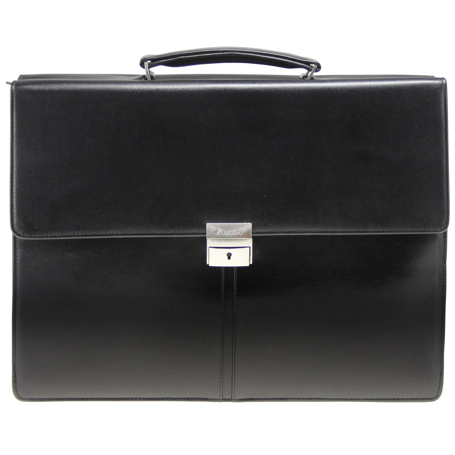 Esquire Aktentasche Leder 40 cm Laptopfach