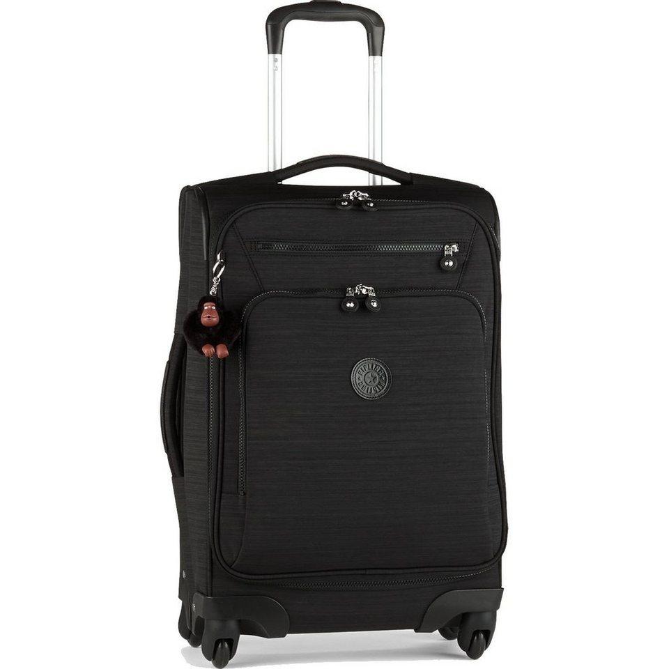 KIPLING Kipling Block Print Travel 4-Rollen Trolley Youri Spin 55 cm in dazz black