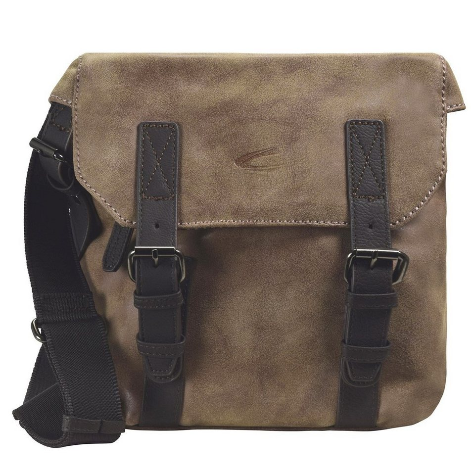 camel active Cambridge Umhängetasche 20 cm Laptopfach in braun