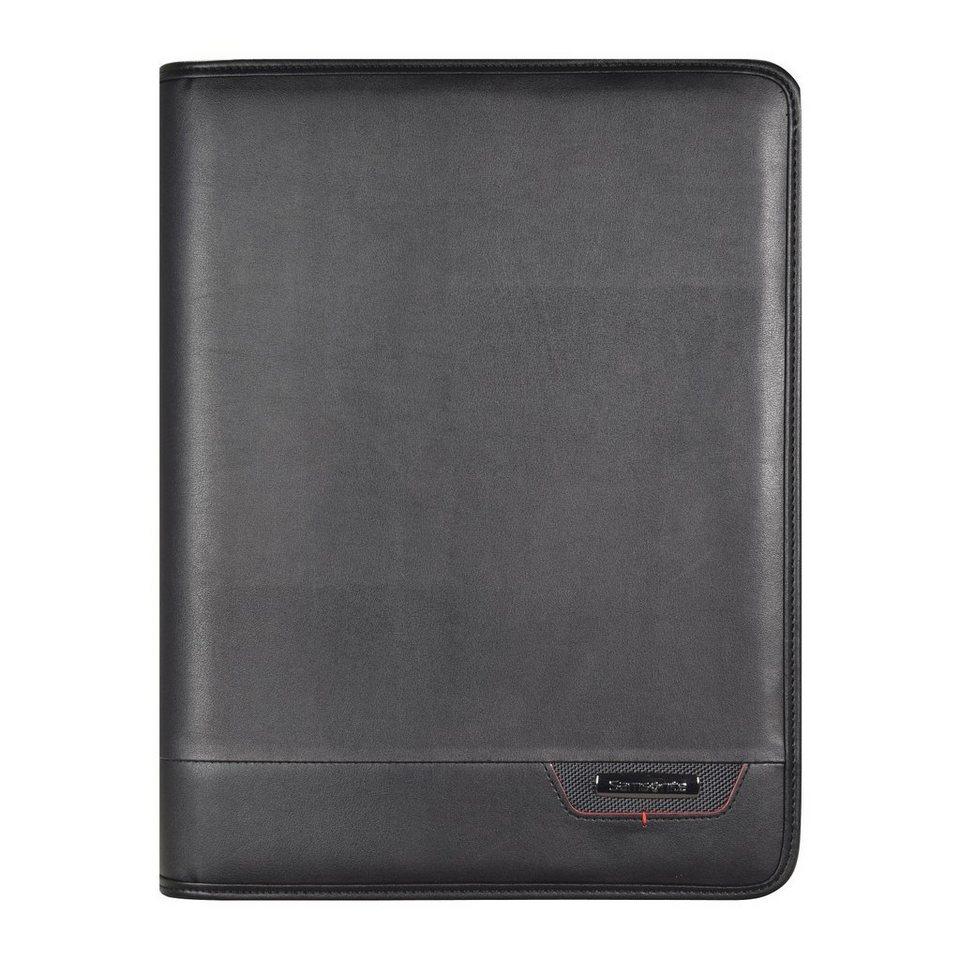 Samsonite Stationery Pro-DLX4 Schreibmappe 27 cm in black