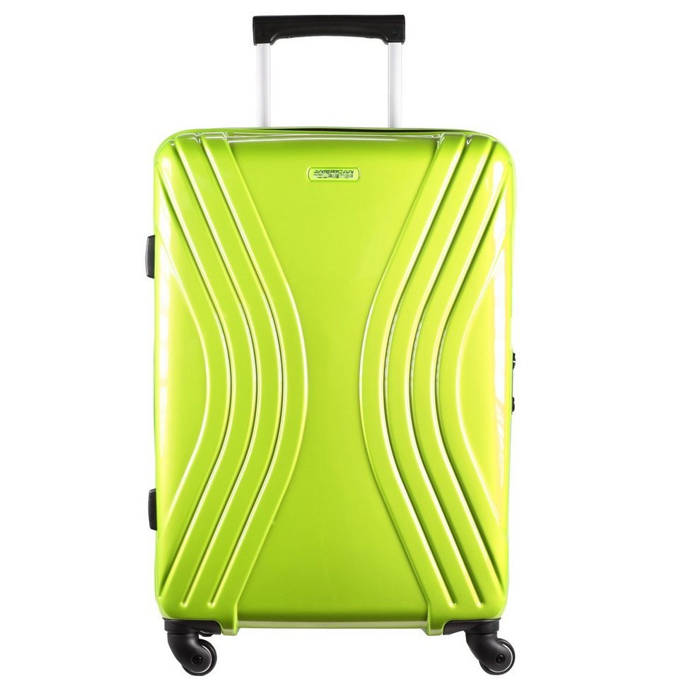 American Tourister Vivotec Spinner 4-Rollen Trolley 70 cm in lime green