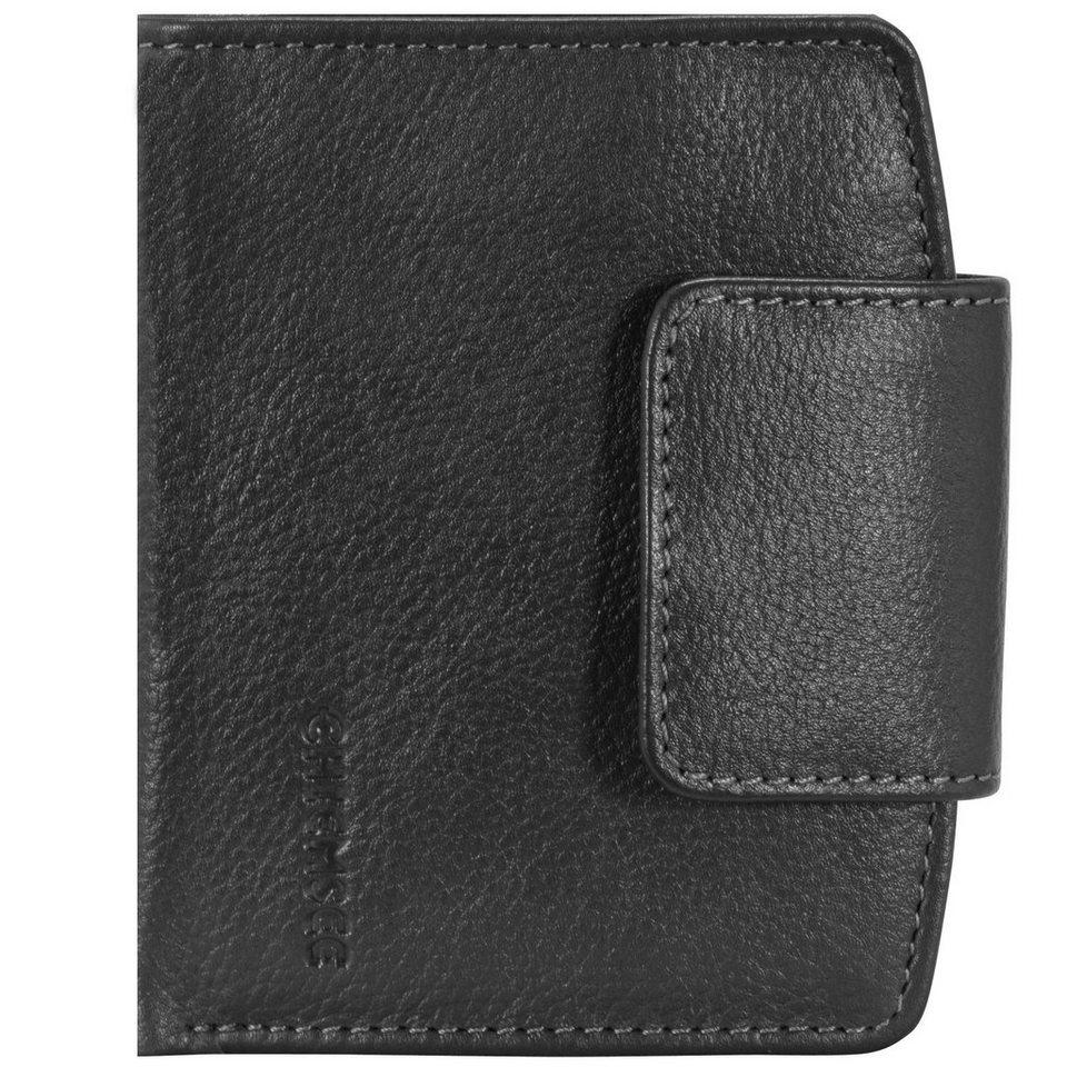 Chiemsee Chiemsee Vermentino Geldbörse Leder 10 cm in black