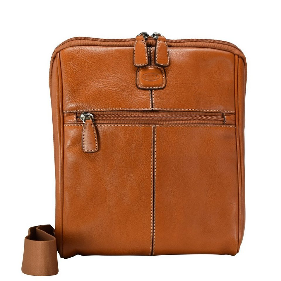 Bric's Life Pelle Schultertasche Leder 24 cm in leather