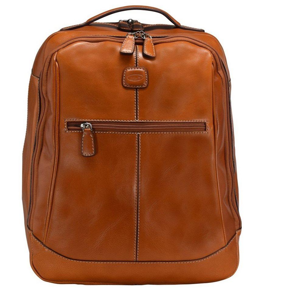 Bric's Life Pelle Rucksack Leder 42 cm Laptopfach in leather