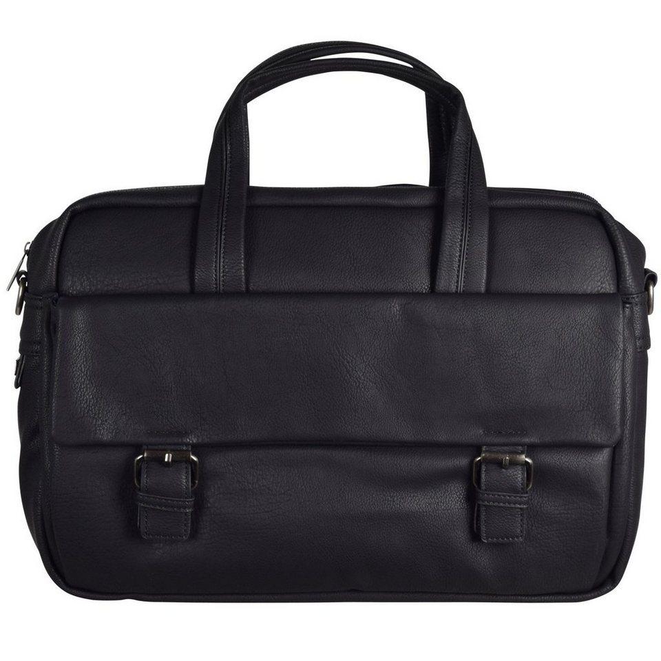 d & n d&n Business Line Businesstasche 40 cm Laptopfach in schwarz
