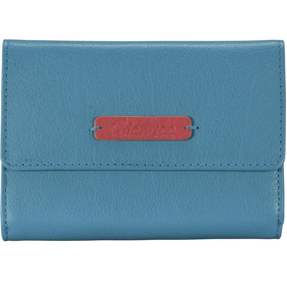 Chiemsee Chiemsee Leo Geldbörse Leder 14,7 cm in light blue