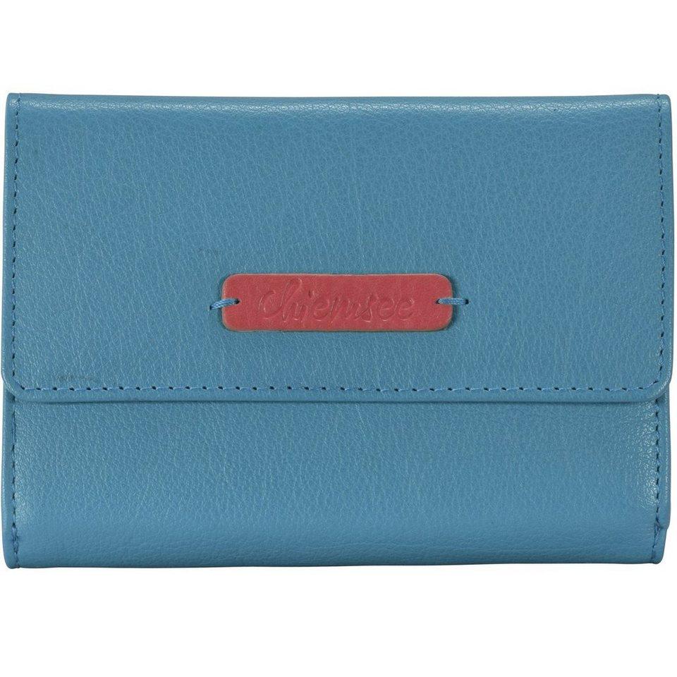 Chiemsee Leo Geldbörse Leder 14,7 cm in light blue