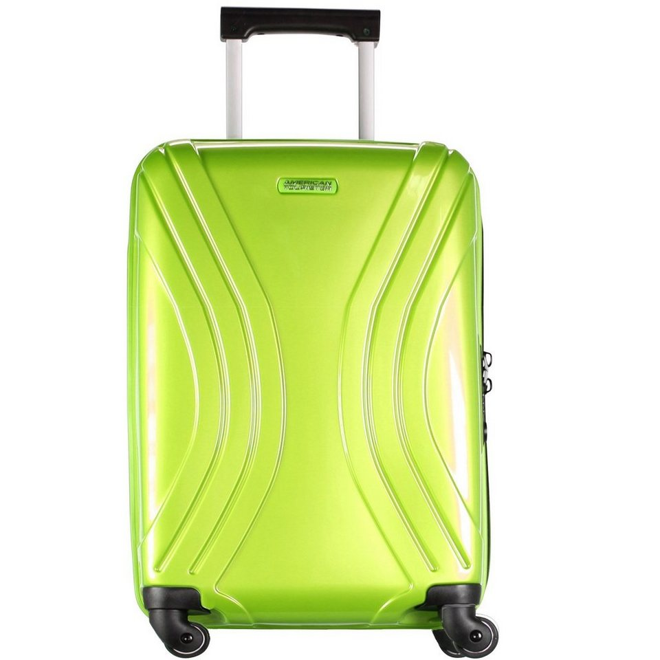 American Tourister American Tourister Vivotec Spinner 4-Rollen Kabinen-Trolley 55 c in lime green