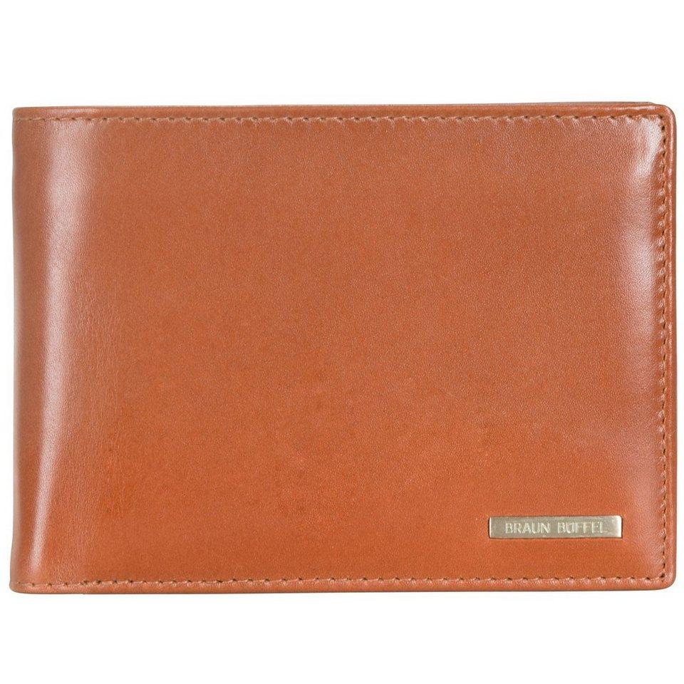 Braun Büffel Texas Geldbörse I Leder 12,5 cm in cognac