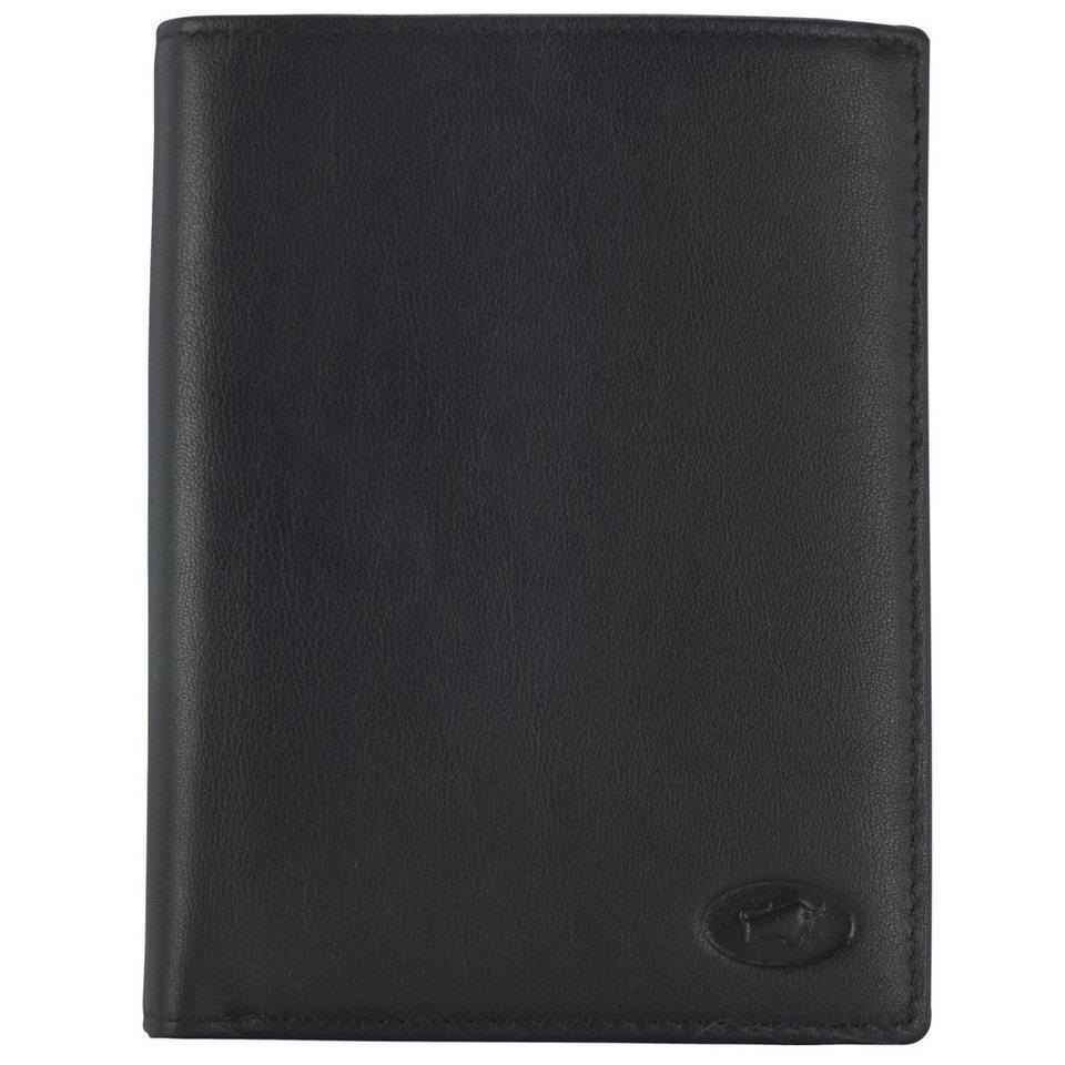 Braun Büffel Braun Büffel Arizona Geldbörse Leder 10 cm in schwarz
