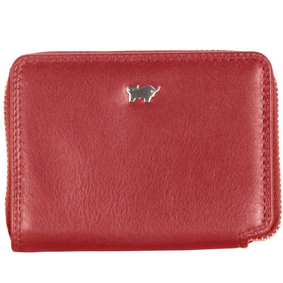 Braun Büffel Braun Büffel RV Golf Kartenetui Leder 10,3 cm in rot