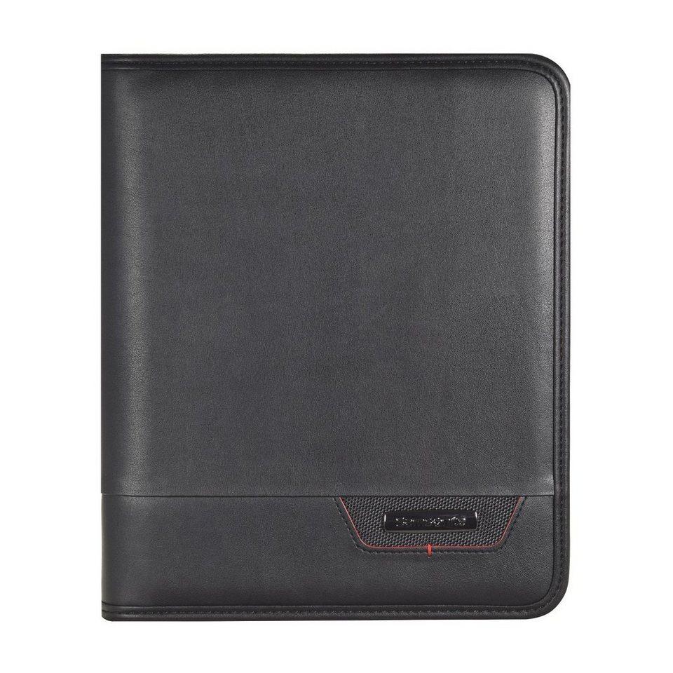 Samsonite Stationery Pro-DLX4 Schreibmappe 23 cm in black