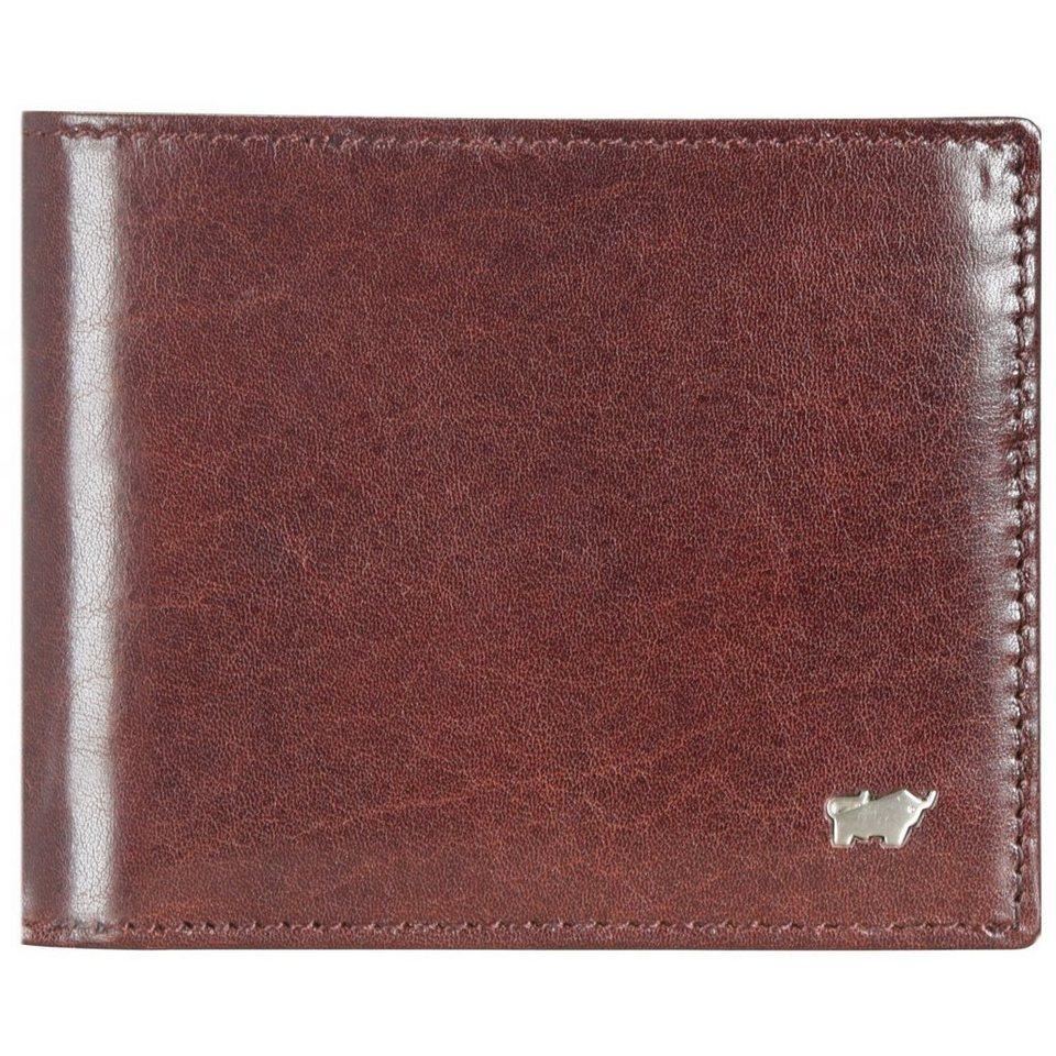 Braun Büffel Country Geldbörse Leder 12 cm in palisandro