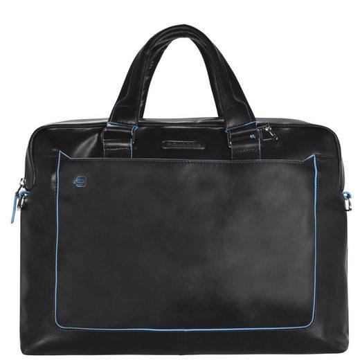 40 Laptopfach Cm Piquadro Aktentasche Blue Square Leder Iii qwf0gXxf