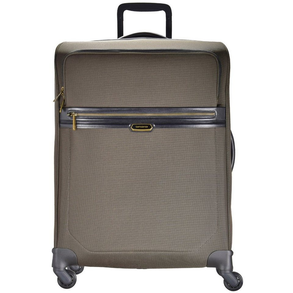 Samsonite Samsonite Integra Trolley Spinner 4-Rollen 84 cm in espresso-black