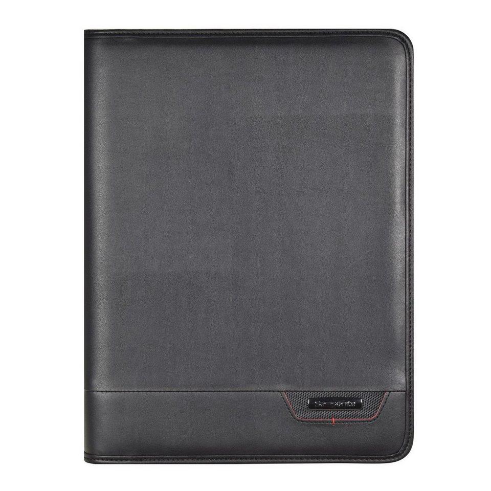 Samsonite Samsonite Stationery Pro-DLX4 Schreibmappe 27 cm in black