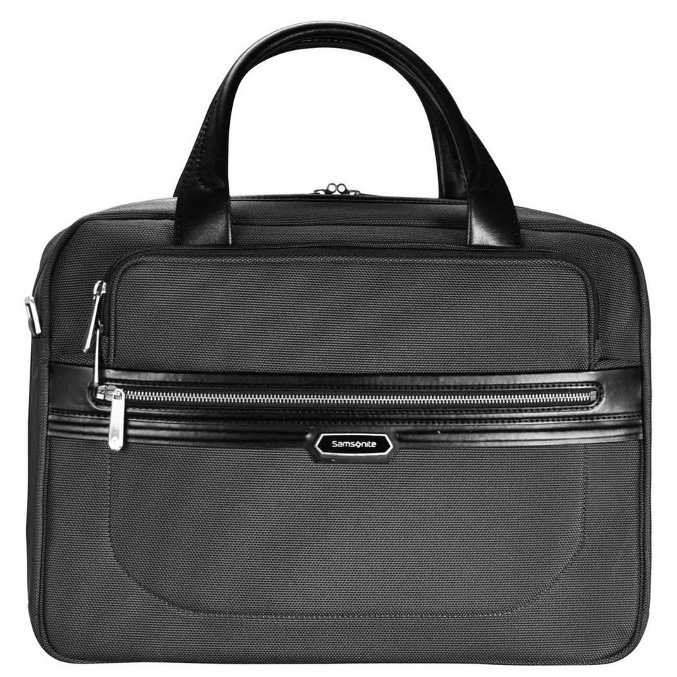 Samsonite Samsonite Integra Businesstasche 45 cm Laptopfach in black-black
