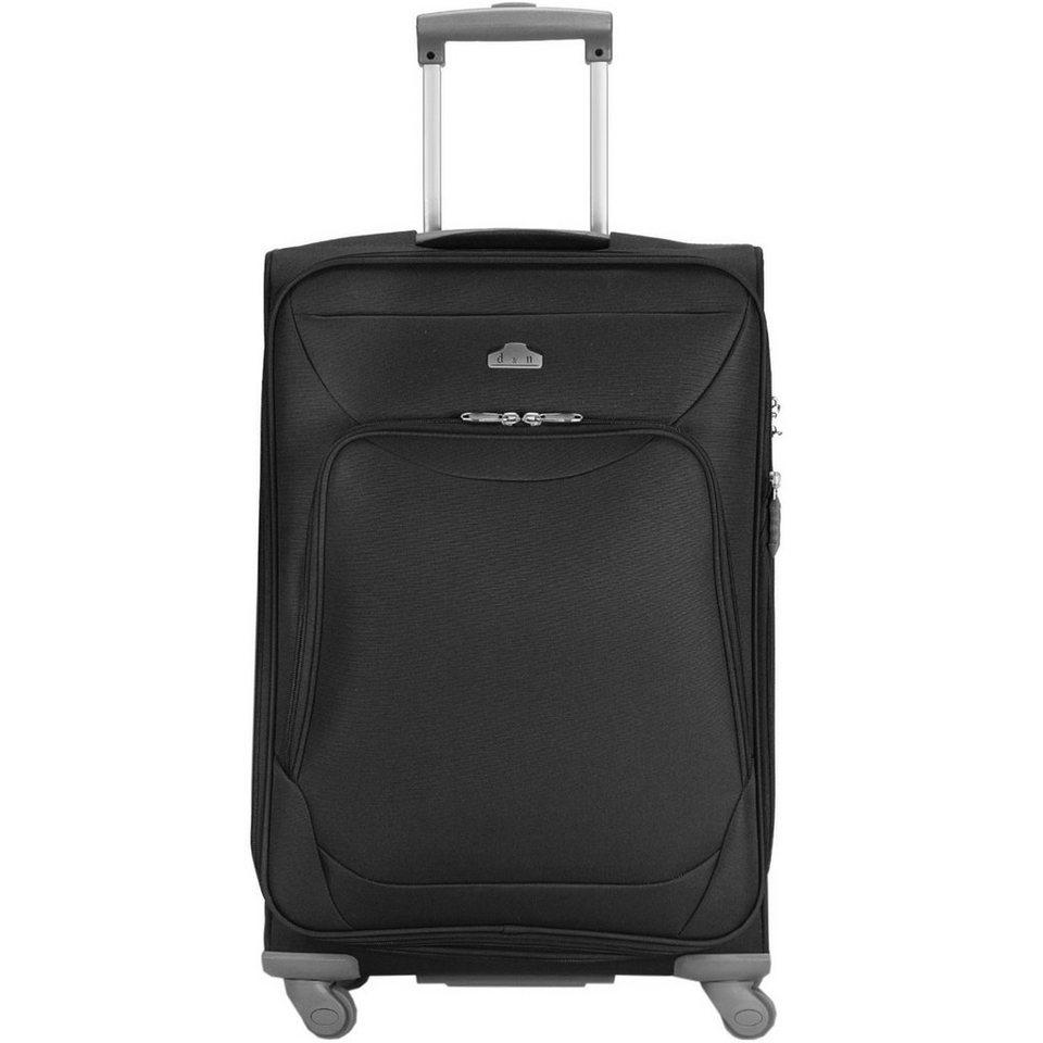 d & n d&n Travel Line 6104 4-Rollen Trolley 60 cm in schwarz