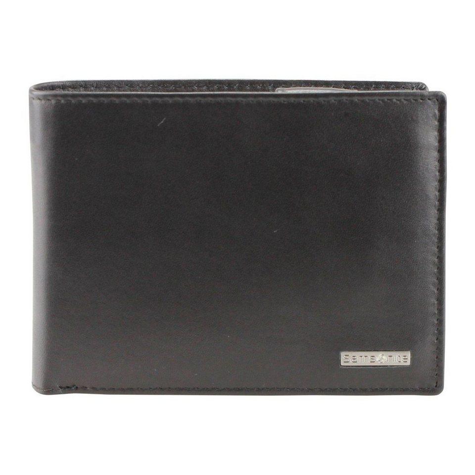 Samsonite Samsonite S-Derry Geldbörse Leder 12.3 cm in black
