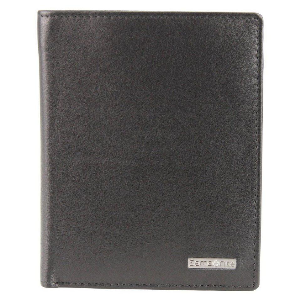 Samsonite S-Derry Geldbörse Leder 10 cm in black