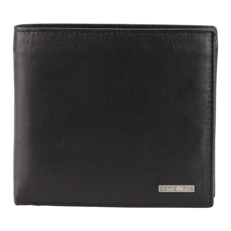 Samsonite Samsonite S-Derry Geldbörse Leder 11.5 cm in black